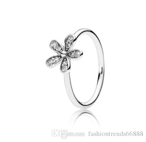 7abd7f311 2016 New Fashion Elegant Pandora Ring Rhinestone Flower Ring Finger Joint  For Women Wedding Jewelry Set Fashion Bride Lover Jewelry Sets Eternity Ring  Mens ...