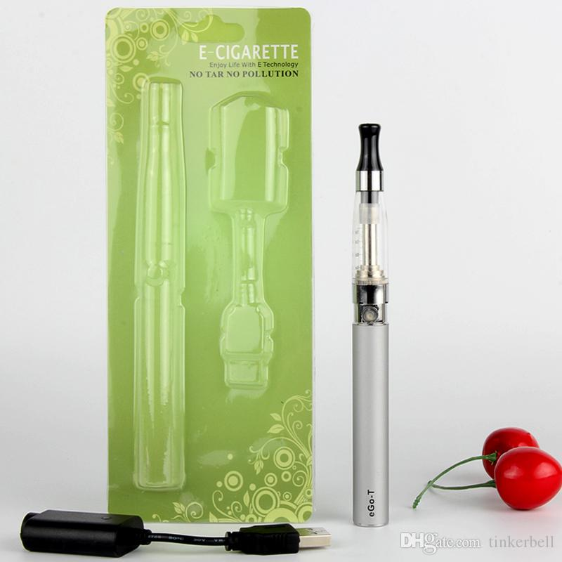 Ego-t blister Kit Vape Pen CE5 Atomizadores Batería Ego-T Kit de cigarrillos electrónicos EGO-T Kit de inicio Blister 650mah / 900mah / 1100mah VS CE4 CE3 EVOD