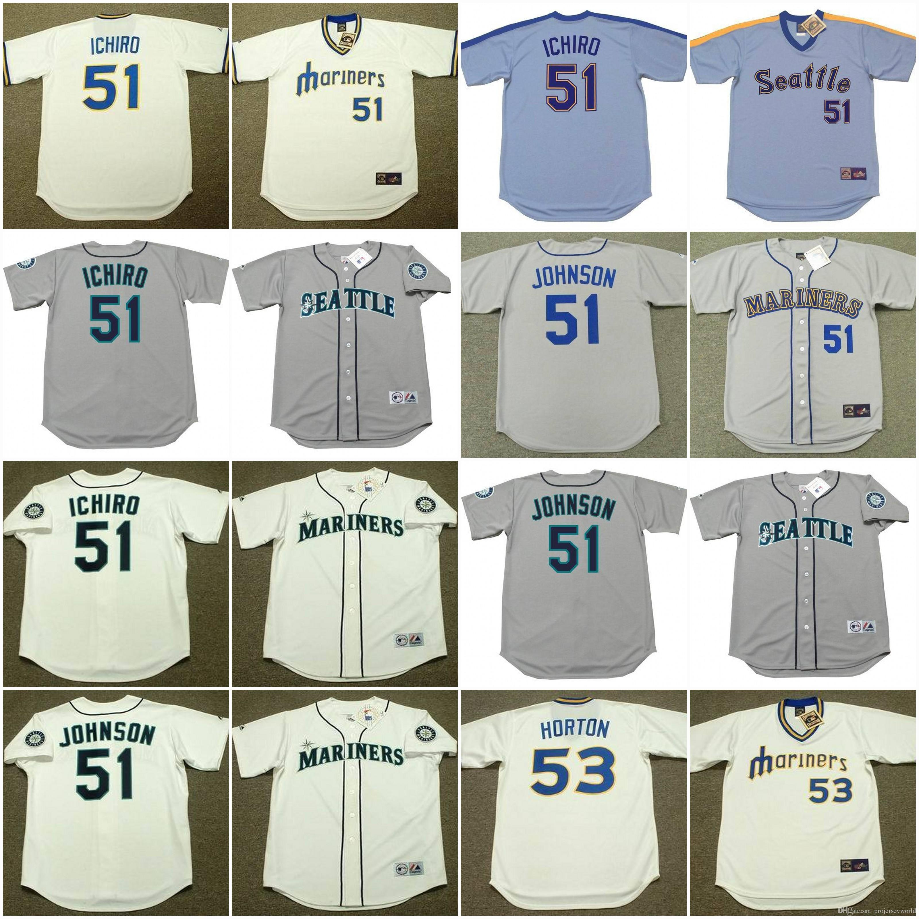 a792f397db3 seattle mariners ichiro suzuki 51 grey authentic mlb jersey sale