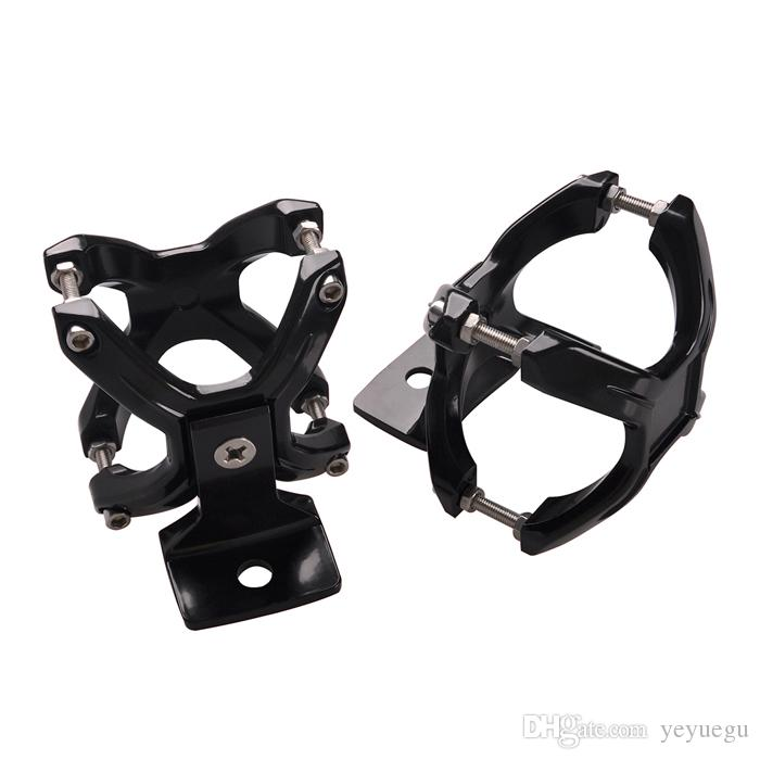 """Wholesale 2"""" 3"""" Aluminum Bull Bar Clamps Mount Bracket Fit Round Tube Roll Cage Bumper Light Bar for ATV Car Truck Pickup Offroad"""