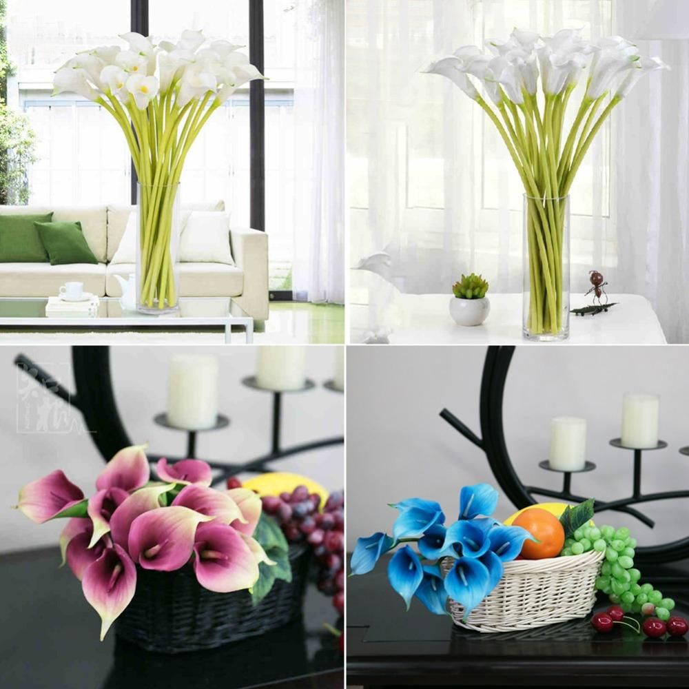 Online cheap wholesale artificial flowers for decoration real touch online cheap wholesale artificial flowers for decoration real touch flowers calla lily artificial flower wedding decoration festive party suppli by izmirmasajfo
