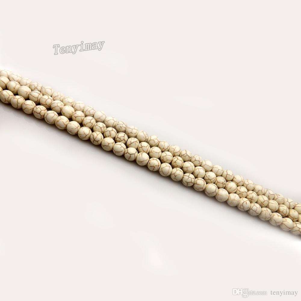 6mm Turquoise perles en vrac pour la fabrication de bijoux DIY 11 couleurs différentes pour choisir la Pack de