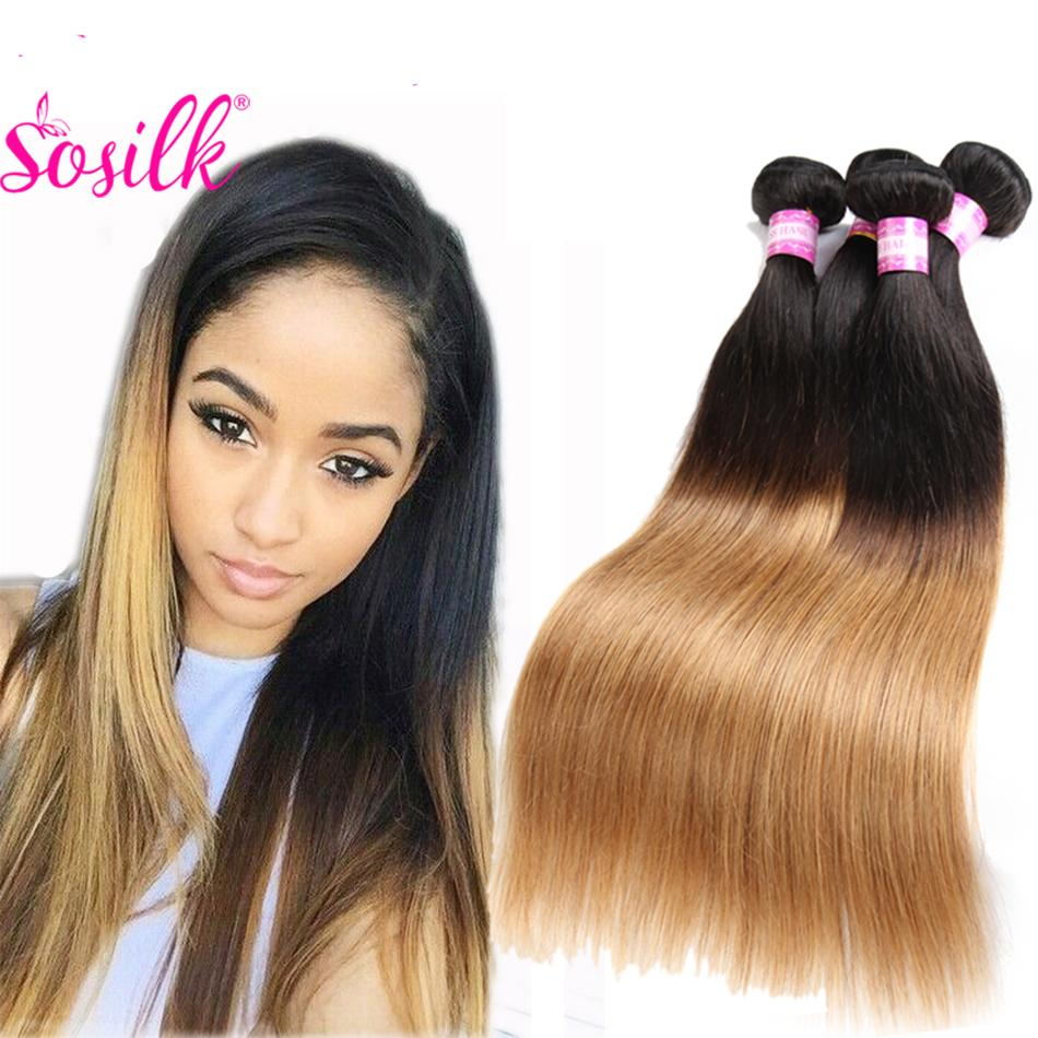 Cheap Ombre Weave Brazilian Human Hair Straight Ombre Brazilian Hair