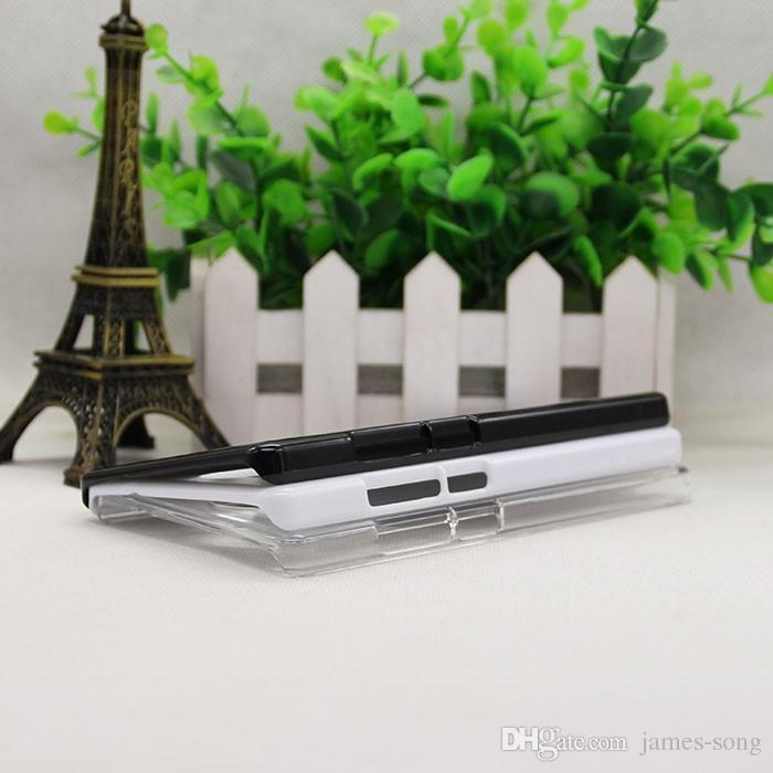 For Huawei P7 P6 P8 P9 Lite Mate S 9 8 / 7 / Honor V8 P10 Lite 5X 4X 3X 5C 4C DIY 2D Sublimation hand PC Blank cover Case