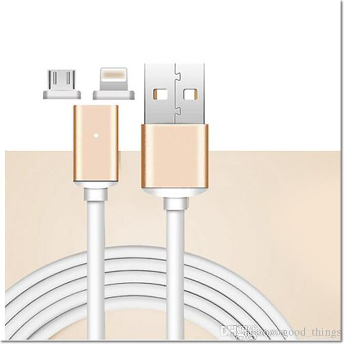 Magnetic Charging Cable Micro Usb Cable Nylonided High S D Type C Charger M For Android Samsung Phone With Repackage Usb Cables Cell Phone