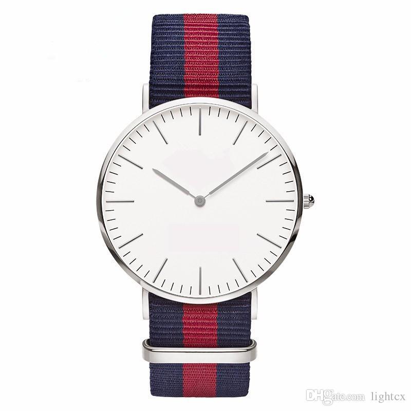 Ultra Thin Geneva Marble Watch Women Simple bracelet Nylon bling watches Ladies dress Quartz Wristwatches Silver Clock