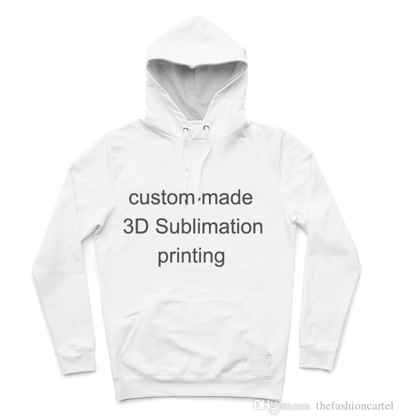 Men's Clothing Real American Size Salt-n-pepa-8-ball Custom Your Own New Stlye 3d Sublimtion Print Zipper Up Hoodies Plus Size