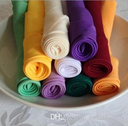 Стол салфетка Diner носовой платок носовой платок платок площадь белье для свадьбы отель поставляет бежевый желтый черный красный больше цвета можно выбрать
