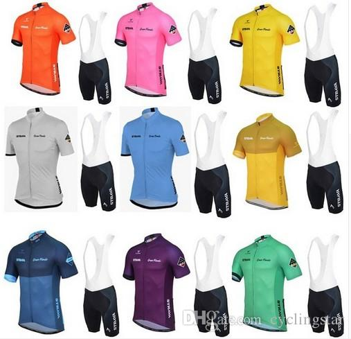 Strava Summer Cycling Jerseys Ropa Ciclismo Breathable Bike Clothing Quick  Dry Bicycle Sportswear Short Sleeve Shirt+Bib Shorts Set D1115 Cheap Cycling  ... 18dcf8a33
