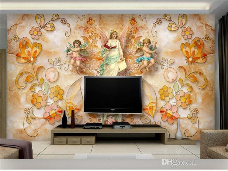 custom papel de parede 3d photo wallpaper wall painting living room sofa large mural wall paper roll Home Decoration