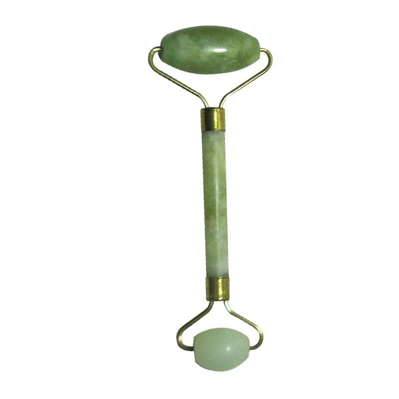 Portable Pratical Jade Facial Massage Roller Anti Wrinkle Healthy Face Body Head Foot Nature Beauty Tool Jade massage stick gift
