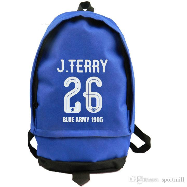 220dc5a6ff4 2019 John Terry Backpack Captain JT 26 School Bag Soccer Fans Daypack  Football Schoolbag Outdoor Rucksack Sport Day Pack From Sportmill
