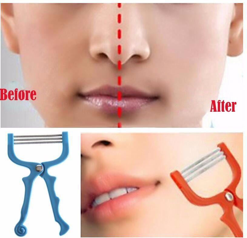 Frauen Gesichts Haar Remover Frühling Threading Epilierer Gesicht Defeatherer Diy Make-up Schönheit Werkzeug Für Wangen Augenbraue Safety Cones