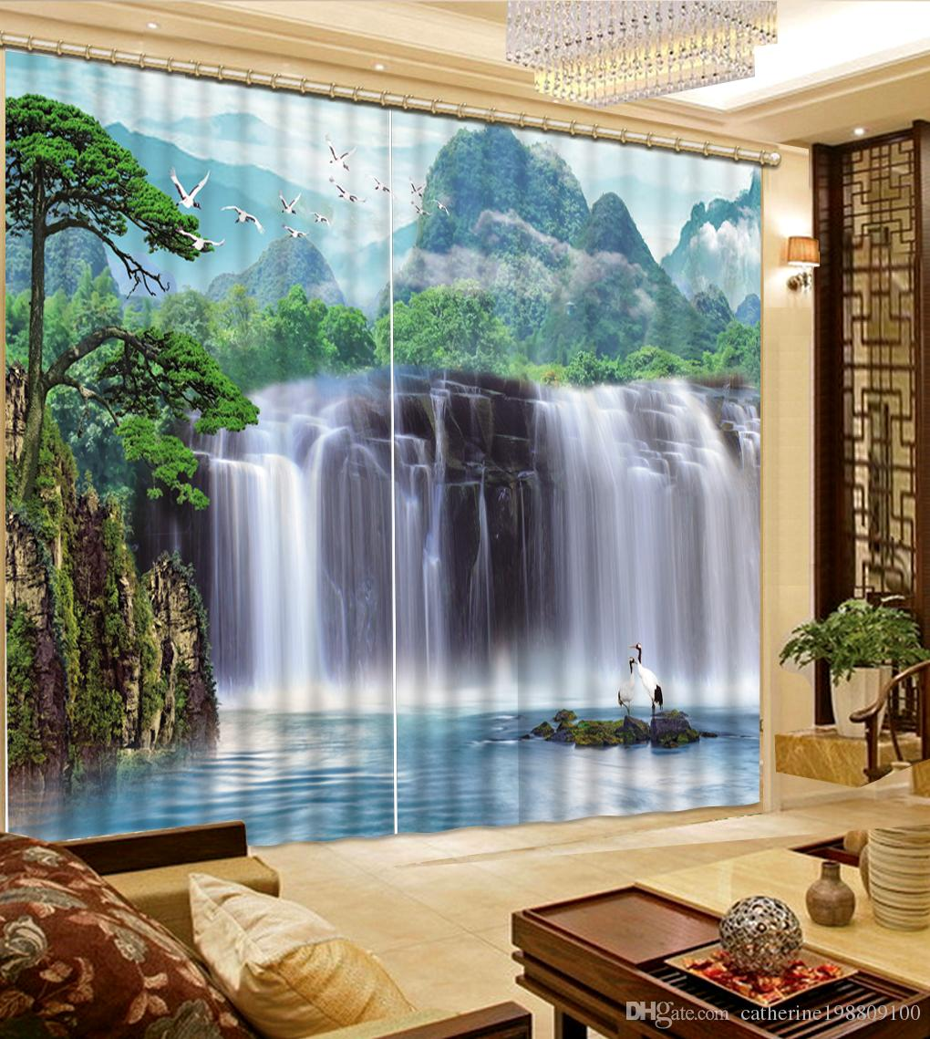 bedroom waterfall. 2018 Luxury European Modern Nature Scenery Waterfall Fashion Decor Home  Decoration For Bedroom From Catherine198809100 321 61 Dhgate Com