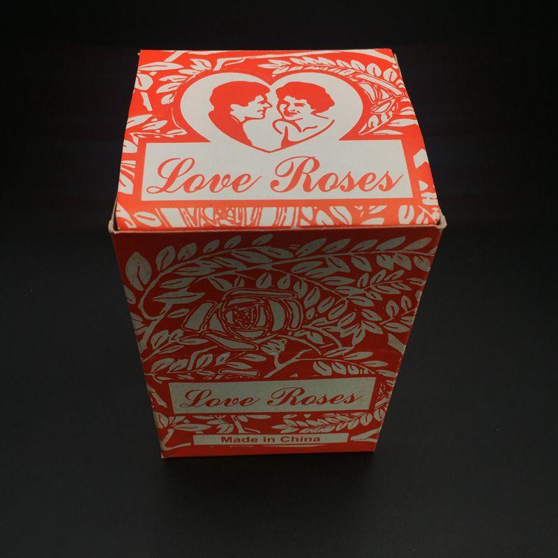 Amour Rose Tube En Verre Tuyaux En Verre Coloré Pipe À Eau Tuyau D'eau Fumer Tuyaux Tuyau À La Main avec Des Fleurs En Plastique pour Tabac Bong Narguilé