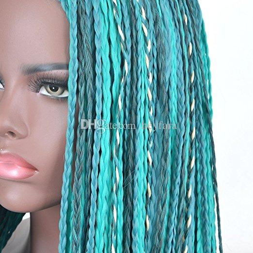 Descendants 2 Uma Cosplay Wig Braided Synthetic Fashion Costume Wigs For  Women Green Long Halloween Cosplay Wig Synthetic Braided Wigs Gray Hair  Wigs