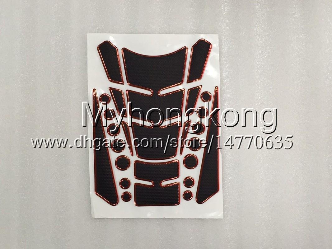 23 cores 3d protetor de almofada de tanque de gás de fibra de carbono para kawasaki ninja zx7r 96 97 98 ZX-7R ZX750 ZX 7R 1996 1997 1998 1999 3D Etiqueta Do Tanque