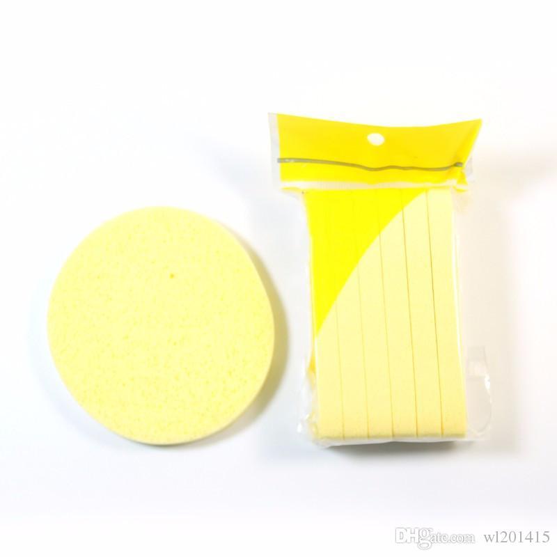 Портативная сжатая губка Слойка из морских водорослей Губка для чистки лица Косметическая пуховка для макияжа Magic Face Чистящие средства для макияжа Pad