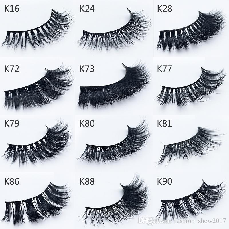 New Styles feathery shine 3d mink hair eye lash extensions real mink hairs false eyelashes fast shipping