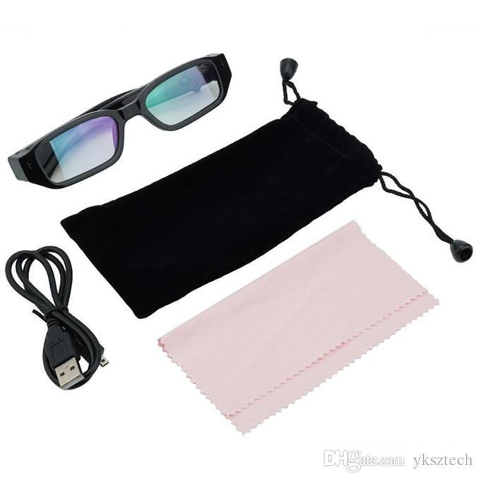 Mini HD 720P Kamera Brille Eyewear DVR Video Recorder Cam Camcorder Kostenloser Versand