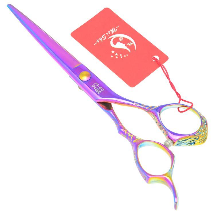 6.0Inch Meisha Barber Salon Hair Shears Professional Hair Cutting Scissors JP440C Hairdressing Scissors with Case,HA0233