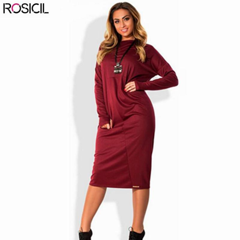 2018 2017 New Long Sleeve Plus Size Women Loose Casual Office