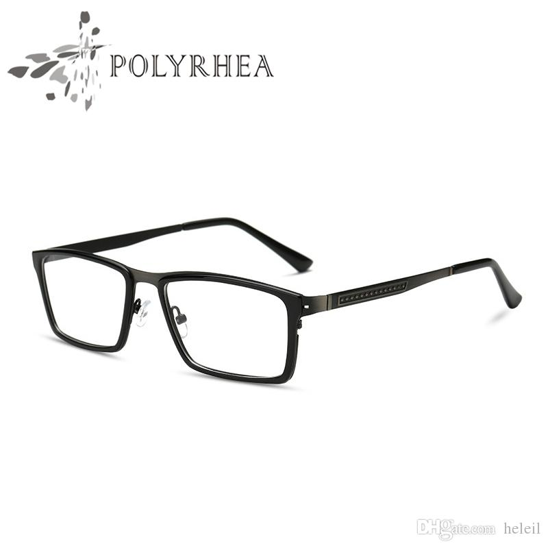 2018 wide eyeglasses frame full rim men optical frame brand designer eyeglasses clear optical myopia eyewear frame with box and case from heleil - Wide Eyeglass Frames