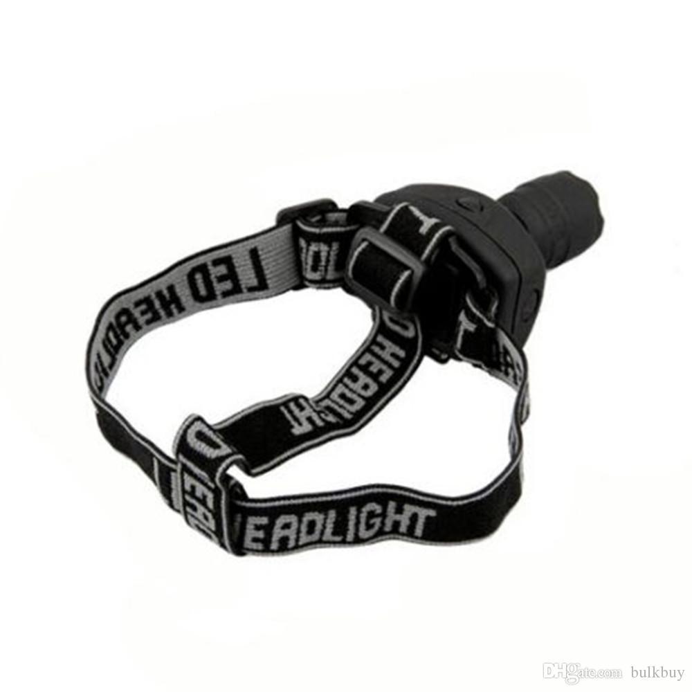 방수 옥외 야영 3W 매우 밝은 LED 헤드 라이트 아 BS 에너지 절약 전조등 야간 낚시 헤드 토치 LED 손전등 도매