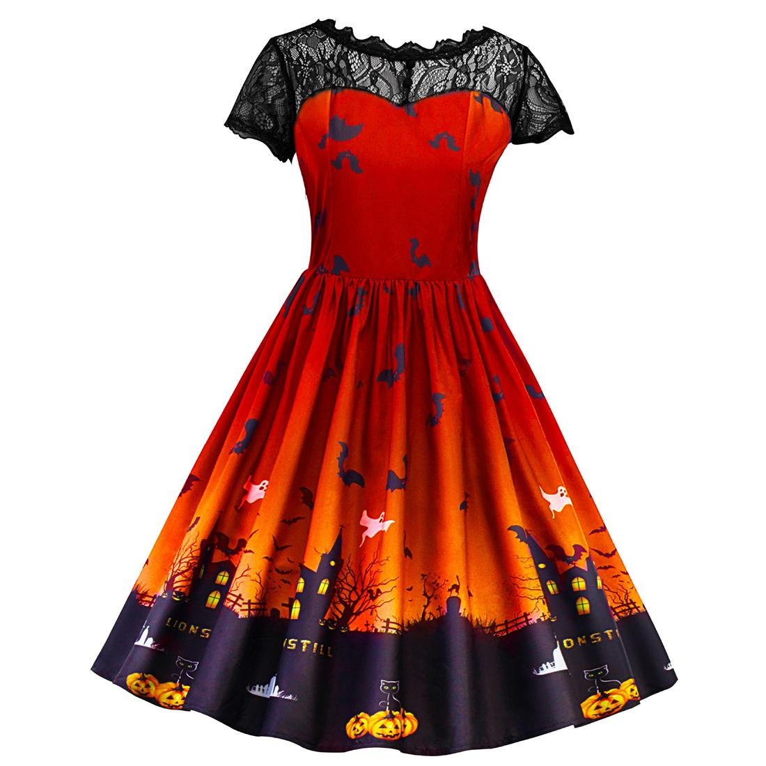 women winter dress 2017 plus size clothing halloween cosplay party
