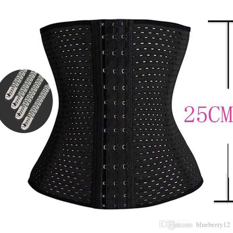 양질의 바디 수트 여성 허리 트레이너 배가 얇은 셰이퍼 교육 코르셋 Cincher 바디 셰이퍼 Bustier 무료 배송