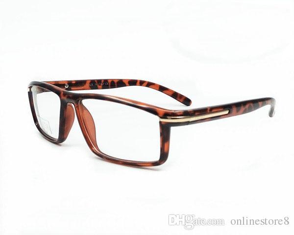 إيطاليا ماركة أزياء الرجال النساء مربع النظارات إطارات للجنسين قصر النظر إطارات النظارات الكمبيوتر الإشعاع الكمبيوتر oculos