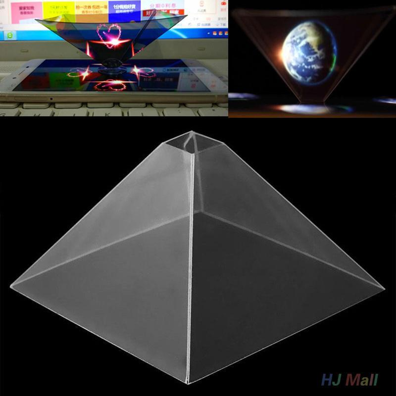 Wholesale 3d Holographic Hologram Display Stand Pyramid