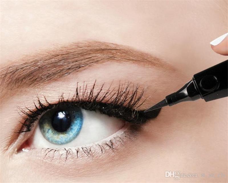 NYX THE CURVE eyeliner liquide beauté rencontre la fonction haute qualité cosmétique imperméable à l'eau parti reine maquillage pour les yeux eye-liner 0.4 MM
