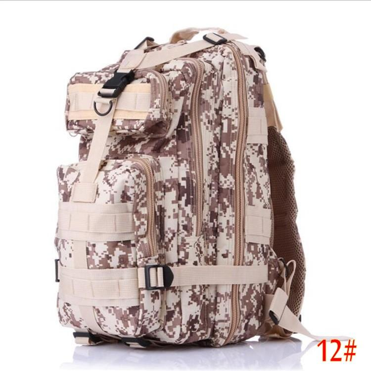 Retail & Wholesale nylon 30L Outdoor Sport Military Tactical Backpack Rucksacks Camping Hiking Trekking Bag epacket