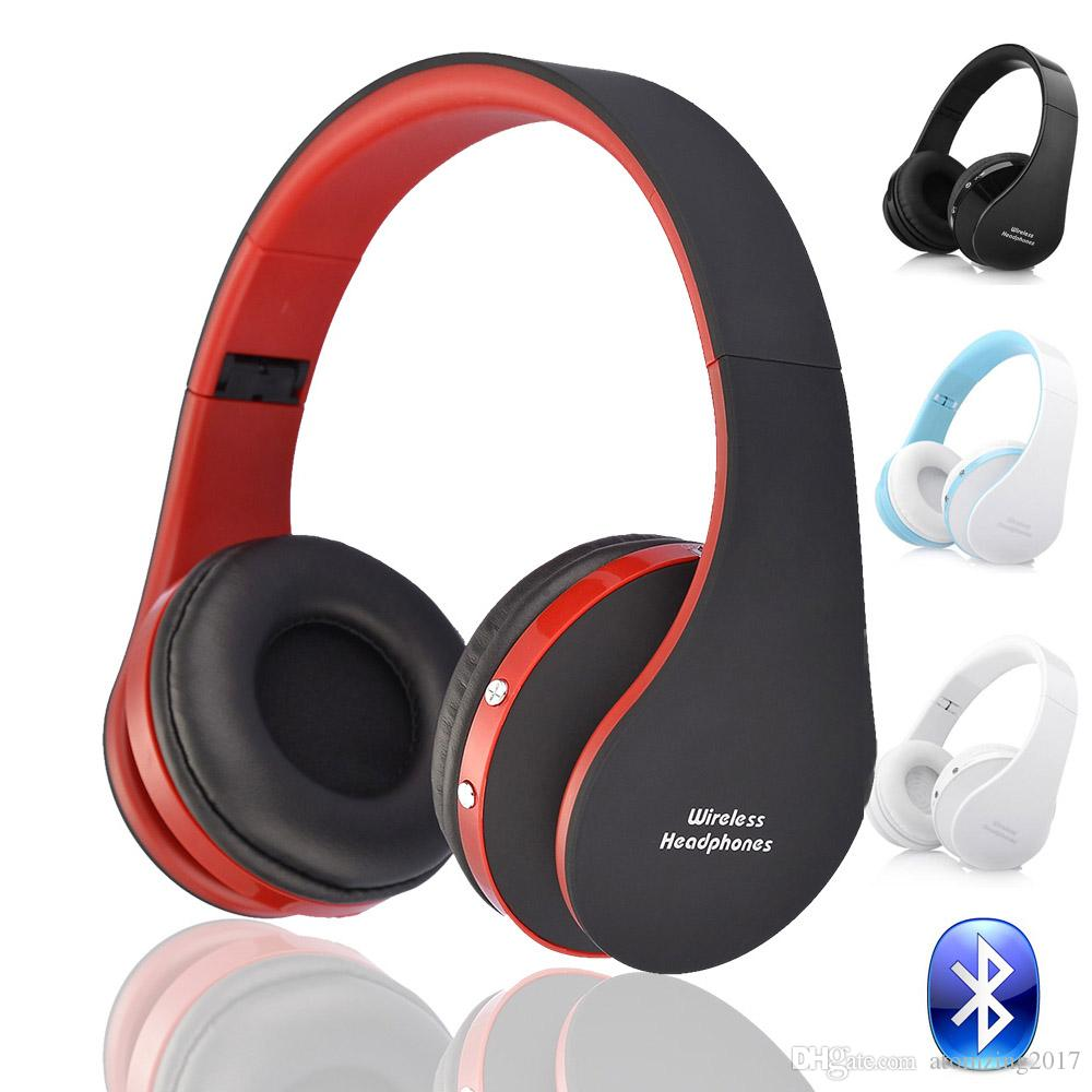 Blutooth Big Casque Audio Cordless Wireless Headphone Headset