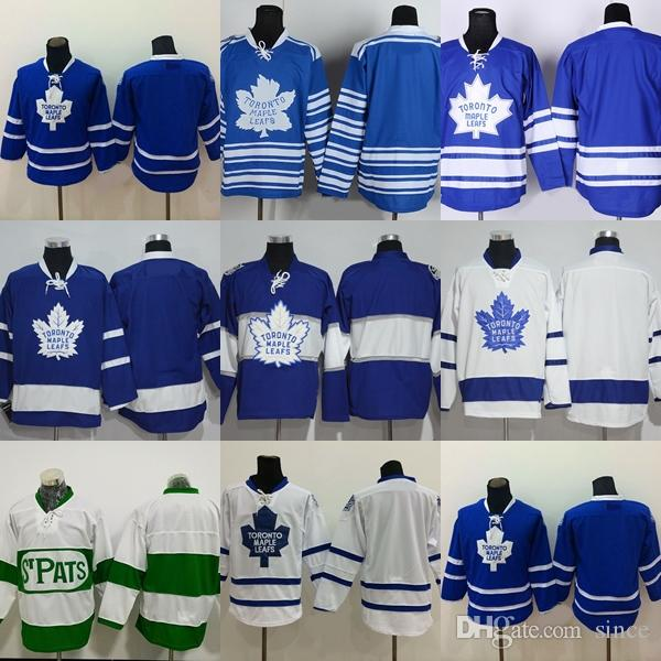 Factory Outlet Men s Toronto Maple Leafs  blank Blue White Green New ... 20e1c4b20