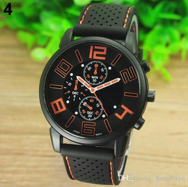 The explosion of car concept fashion watch men dial three eye cool Sports Watch