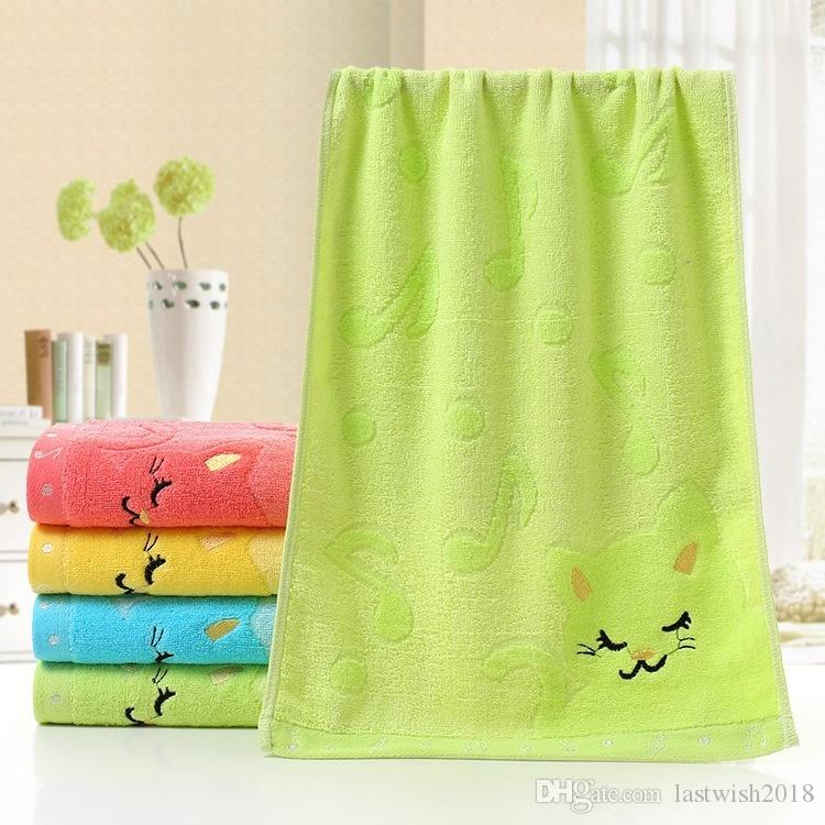 Bathing Shower Towel Bamboo Fiber Cotton Towel Strong Water Absorbing Home Tools