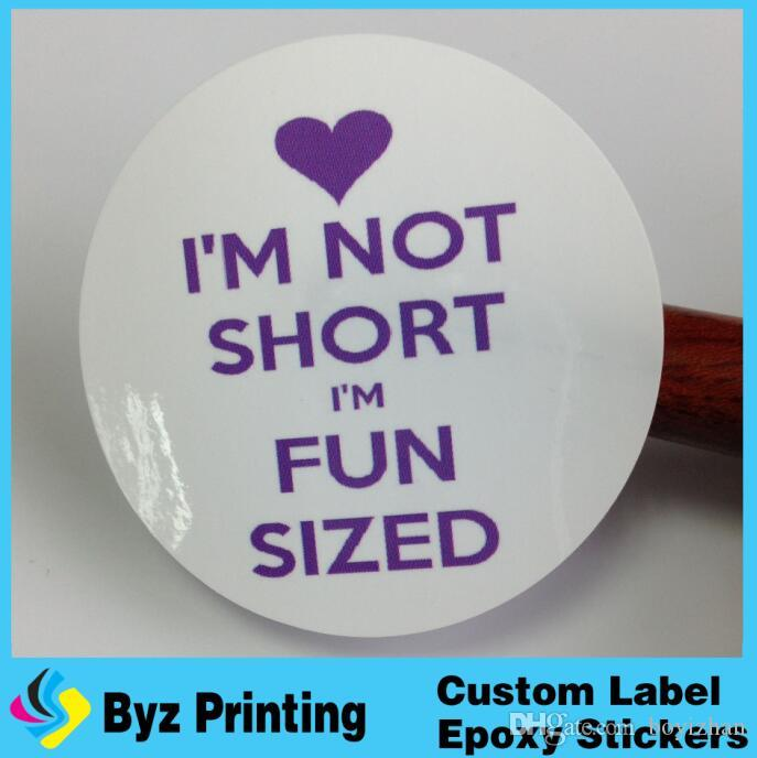 Glossy lamination adhesive vinyl circle labels packaging in sheets waterproof vinyl label sticker printing vinyl circle labels waterproof vinyl label
