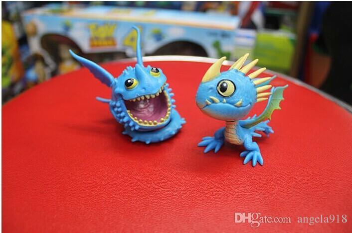 Comment dresser votre dragon Figurines PVC Toy Doll NightFury édenté dragon Livraison gratuite E1743