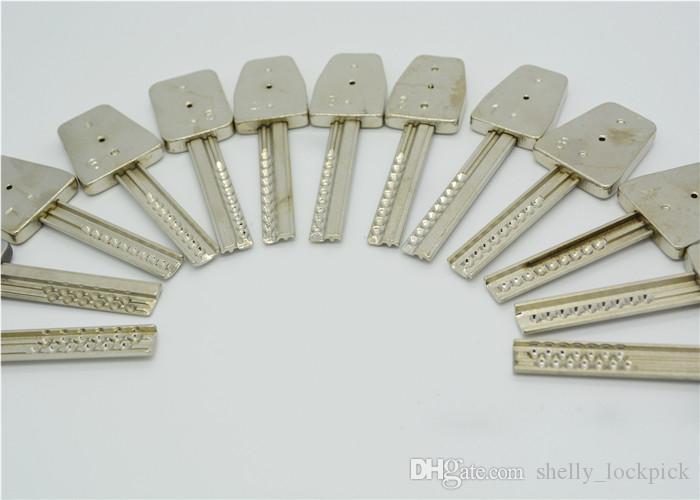 Vente chaude HUK 14 en 1 Crescent Kaba Bump Pick Lock Key Ouverture Rapide Outils De Serrurier Set