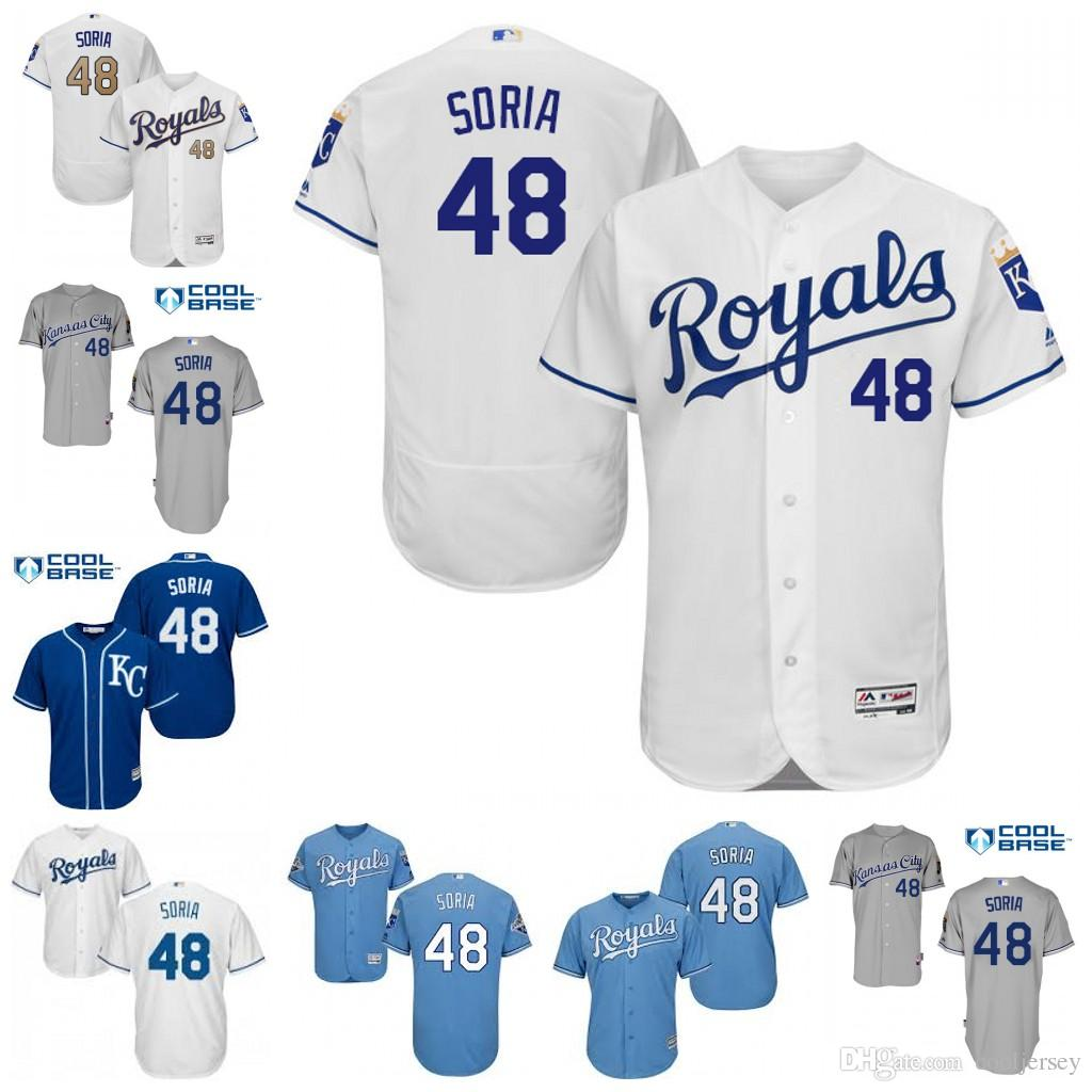 best sneakers 845b4 40375 mlb jerseys kansas city royals 40 kelvin herrera white jerseys