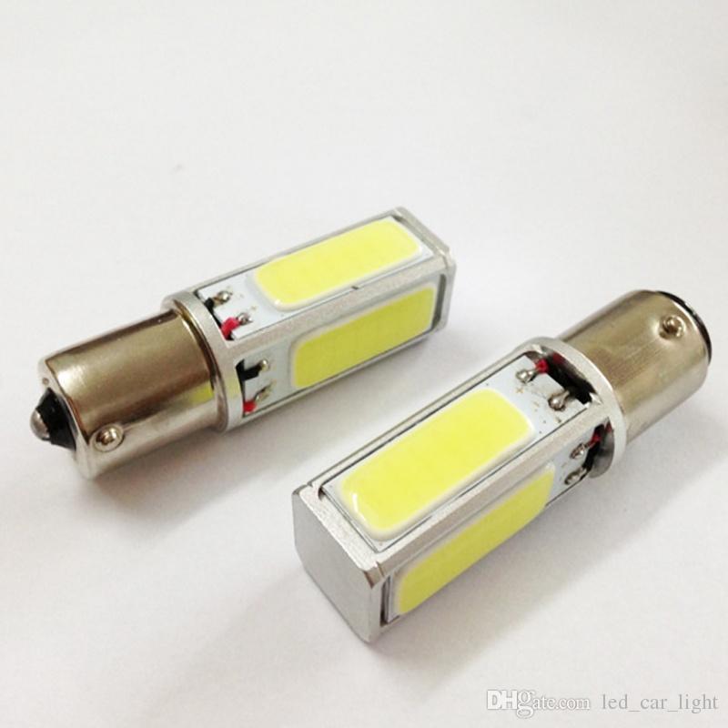 Yüksek Güç COB Araç Kuyruk Işık Far 1156 Kuyruk Ampul LED BA15S S25 P21W Lamba Saf Beyaz DC12V