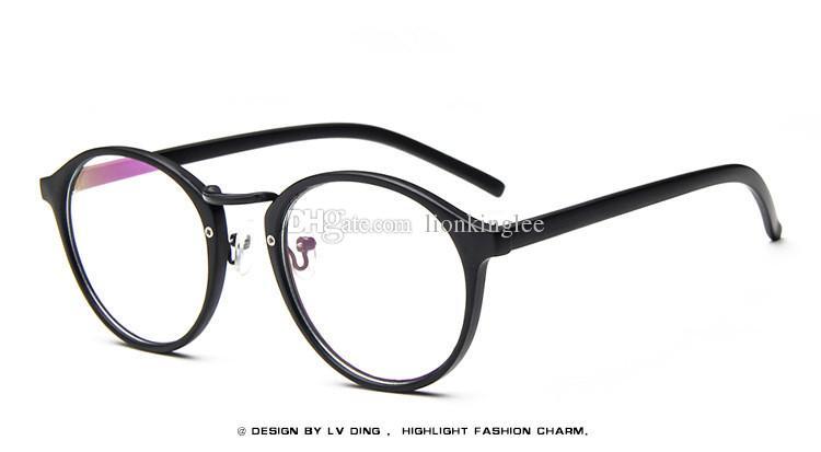 8e722adba9a New Vintage Optical Glasses Frame Glasses Brand Designer Eyeglasses For Women  Men Eyewear Myopia Oculus Frame LT066 Reading Glasses Frames Rimless Glasses  ...