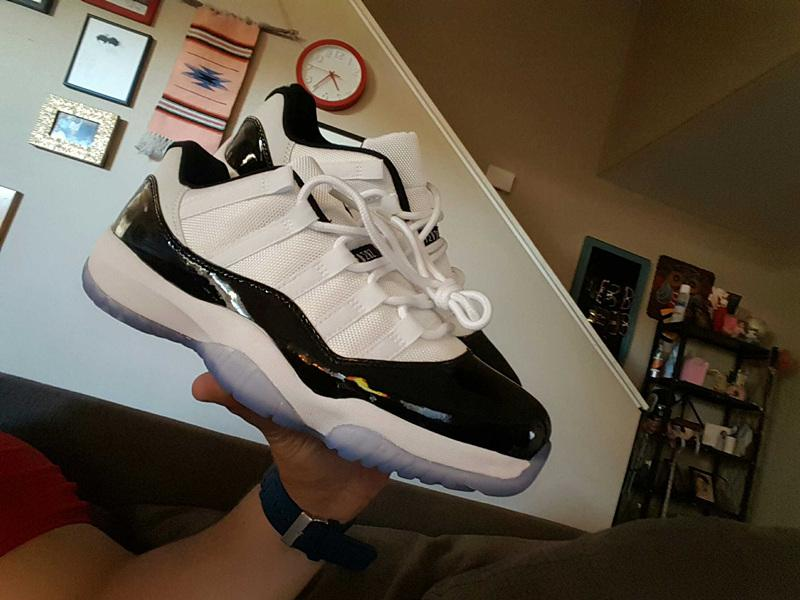 Cool grey 11 low prom night 11s Basketball Shoes UNC Concord 72 10 bred Gamma Blue Space jam mens trainers