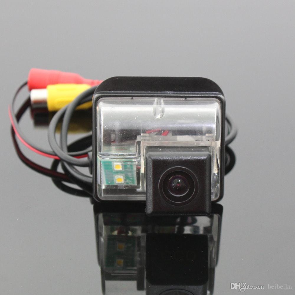 Cámara del coche para Mazda 3 Mazda3 Sendan Cámara de visión trasera / HD CCD RCA NTST PAL / Luz de la placa OEM
