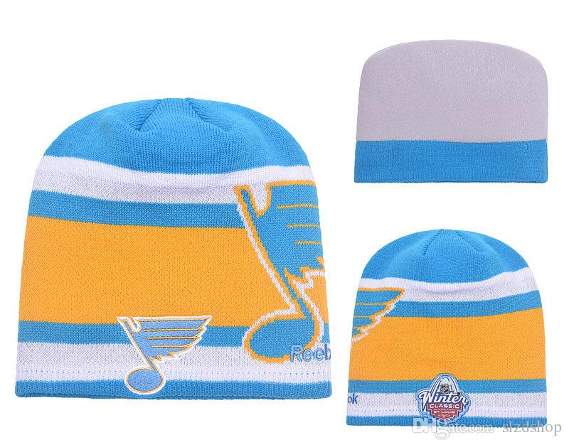 664e3e8259a316 Men'S Blues Royal 2017 Winter Classic Beanie Crazy Hats Mens Beanies ...