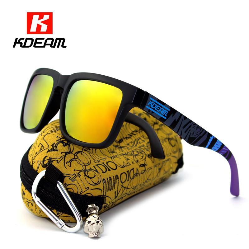 a188ca336b9 Wholesale Sport Polarized Sunglasses Men Brand Designer Surfing Sunglass  Oculos De Sol Sun Glasses Women With All Purpose Box KDEAM CE Glasses For Men  Mens ...