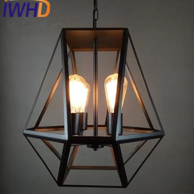Schon Wholesale Iwhd Iron Lampen 4 Heads Vintage Lamp Pendant Light Fixtures Loft Style  Retro Industrial Pendant Lights Lamparas Home Lighting Hanging Lamp Shades  ...