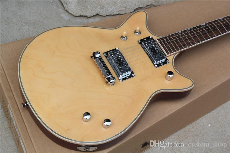 double cutaway solid body high quality replica guitar g6131my malcolm young ii natural electric. Black Bedroom Furniture Sets. Home Design Ideas